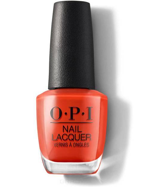 Купить OPI, Лак для ногтей Nail Lacquer, 15 мл (233 цвета) A Red-vival City / Lisbon