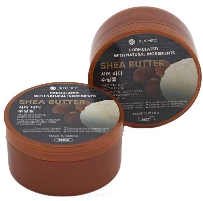 Купить Jkosmec, Многофункциональный успокаивающий гель с маслом ши Shea Butter Multifunctional Soothing Gel, 300 мл