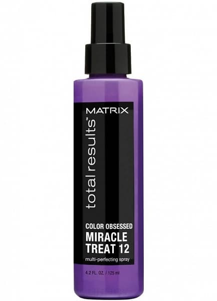 Matrix, Спрей для окрашенных волос Color Obsessed Miracles Treat 12 Total Results, 125 млНесмываемые спреи<br><br>