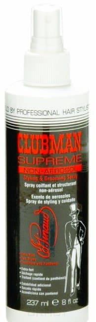 Clubman, Спрей для укладки волос Supreme Hair Spray, 237 мл clubman спрей для укладки волос supreme hair spray 237 мл