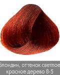 Купить Nirvel, Краска для волос ArtX профессиональная (палитра 129 цветов), 60 мл 8-5 Красное дерево блондин