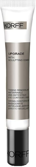 Korff, Моделирующий и тонизирующий крем для контура глаз Upgrade Toning Remodelling Anti Wrinkle and Anti-Fatigue Eye Contour Cream, 15 мл hot selling small pen shade electric vibration anti wrinkle eye and face massager