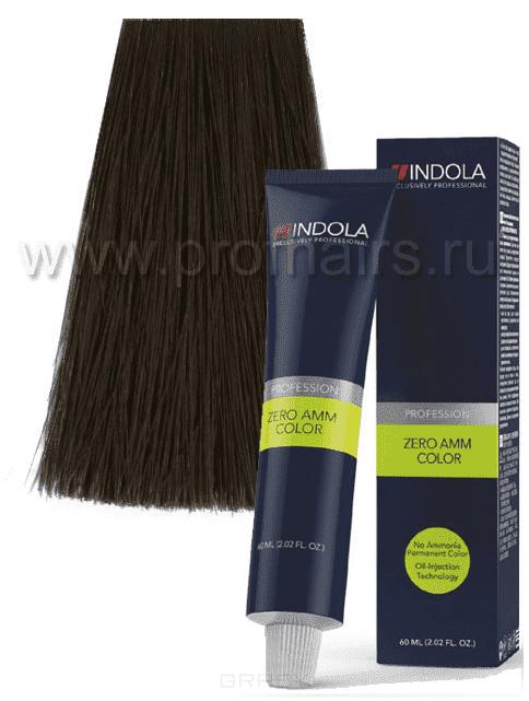 Indola, Zero Amm Стойкий краситель на масляной основе без аммиака, 60 мл (35 оттенков) 6-32 темный русый золотистый перламутровыйIndola Profession - окрашивание волос<br><br>