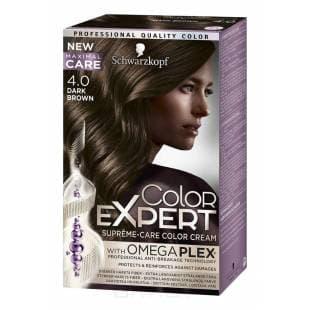 Schwarzkopf Professional, Краска для волос Color Expert (22 оттенков) 4.0 Темно-каштановый schwarzkopf professional краска для волос color expert 22 оттенков 3 0 черно каштановый 1 шт