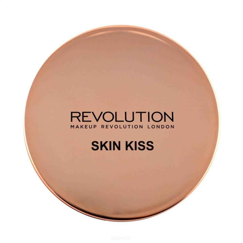 MakeUp Revolution, Хайлайтер для лица Skin Kiss, 14 гр (3 варианта), Ice Kiss