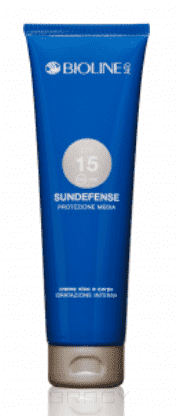 Купить Bioline, Крем SPF 15 для тела, средняя степень защиты от УФ Sundefense, 150 мл