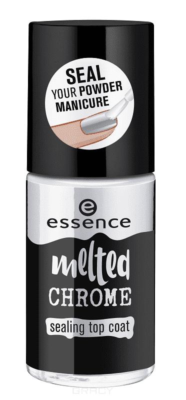 Купить Essence, Закрепляющее верхнее покрытие Melted Chrome, 8 мл
