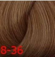 Estel, Краска для волос Princess Essex Color Cream, 60 мл (135 оттенков) 8/36 Cветло-русый золотисто-фиолетовый estel estel princess essex краска для волос 8 34 светло русый золотисто медный бренди 60 мл