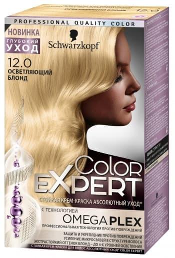 Schwarzkopf Professional, Краска для волос Color Expert (22 оттенков) 12.0 Осветляющий блонд schwarzkopf professional краска для волос color expert 22 оттенков 4 68 лесной орех 1 шт