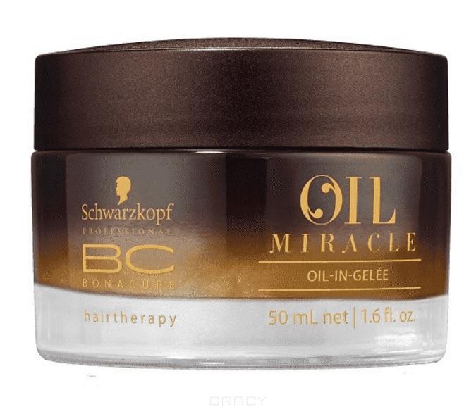 Schwarzkopf Professional, Блеск SE Масляное желе, 50 млBonacure Oil Miracle - зеркальный блеск<br><br>