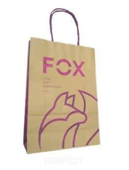 Fox Professional, Пакет с логотипом, 1 шт, средний (32*23*10 см)