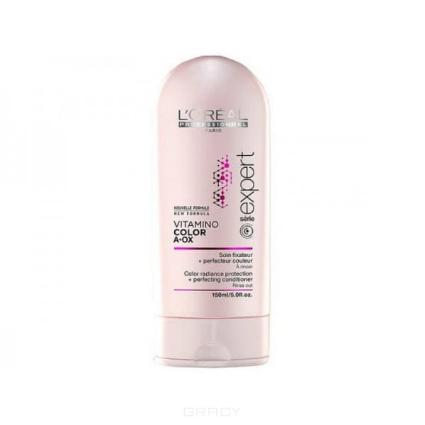 L'Oreal Professionnel, Смываемый уход-фиксатор цвета Serie Expert Vitamino Color AOX, 150 мл l oreal professionnel serie expert absolut lipidium conditioner смываемый уход 150 мл