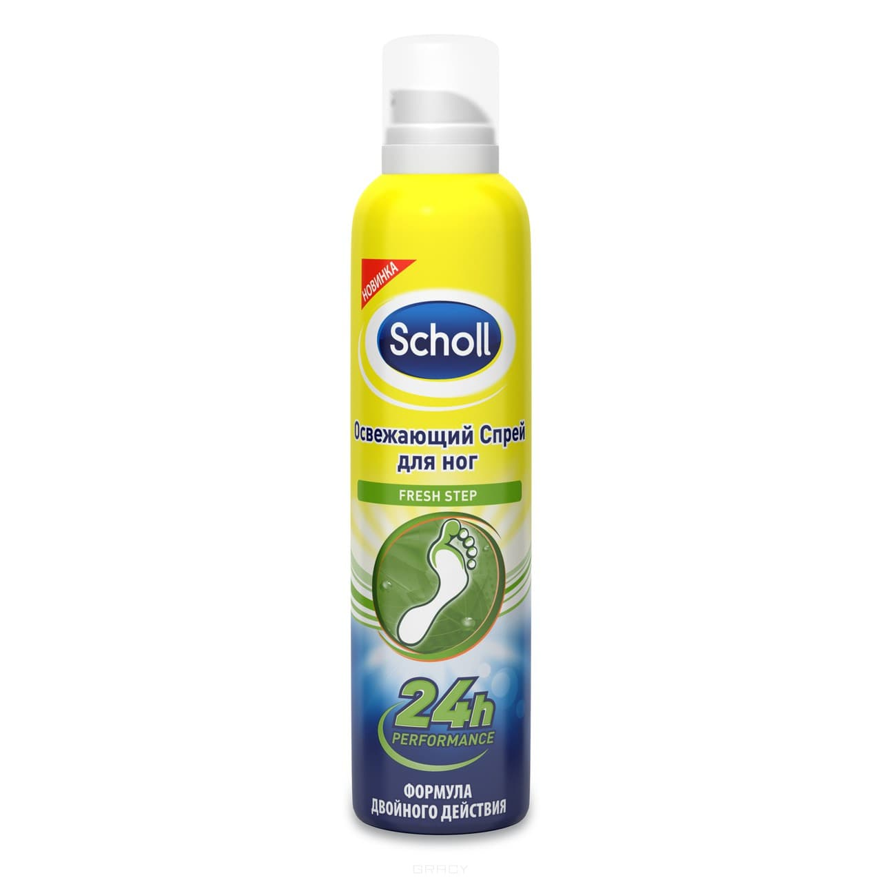 Scholl, Освежащий спрей дл ног активного действи, 150 млУход за ногами<br><br>