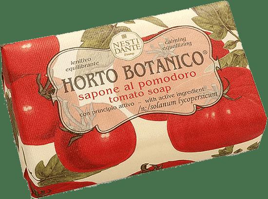 Мыло Помидор, 250 гр.Косметическое мыло ручной работы из овощной коллекции Помидор основано на натуральном экстракте спелого красного томата, выращенного в солнечной Флоренции. Такой экстракт представляет собой природный коктейль из витаминов С, А и В. Томат насыщен антиоксидантами, а также укрепляет защитный барьер кожи, благодаря чему она становится ровной и сияющей.<br>