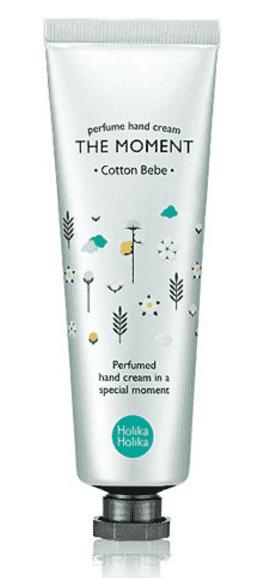 Holika Holika, Крем для рук Хлопок The Moment Perfume Hand Cream Cotton Bebe, 30 млКремы для рук<br><br>