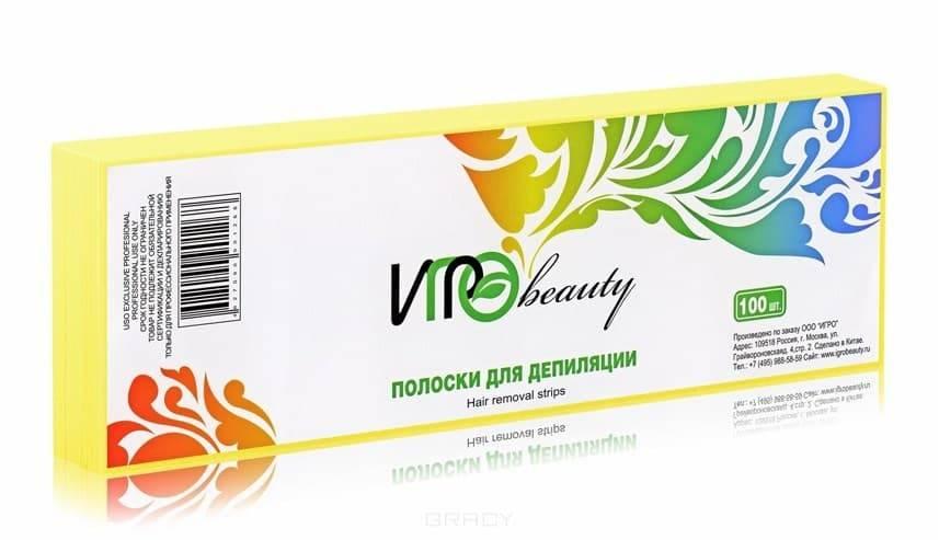 Igrobeauty, Бумага в полосках для депиляции, 7х22 см (5 цветов) ЗеленаяАксессуары и расходные материалы для депиляции<br><br>