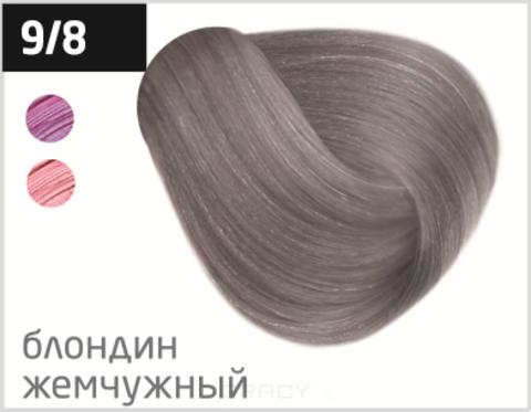 Купить OLLIN Professional, Перманентная стойкая крем-краска с комплексом Vibra Riche Ollin Performance (120 оттенков) 9/8 блондин жемчужный