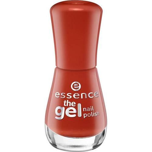 Essence, Лак для ногтей The Gel Nail, 8 мл (34 оттенка) №117, красно-рыжий essence the gel nail лак для ногтей серо синий тон 51 8 мл