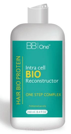 BB One, Hair Bio Protein Максимальное выпрямление и восстановление, 250 мл концентрированный кондиционер жизненный протеин artero protein vital 100 мл