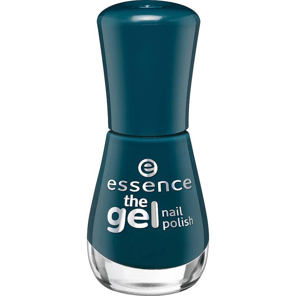 Essence, Лак для ногтей The Gel Nail, 8 мл (34 оттенка) №105, сине-зеленый essence the gel nail лак для ногтей серо синий тон 51 8 мл