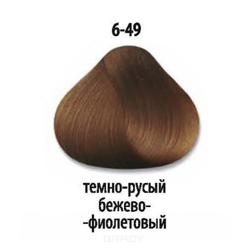 Constant Delight, Стойкая крем-краска для волос Delight Trionfo (63 оттенка), 60 мл 6-49 Темный русый бежевый фиолетовыйОкрашивание<br>Краска для волос Constant Delight Trionfo - это уникальное средство, способное придать волосам здоровый вид и блеск.<br>  <br>Крем-краска Трионфо от Констант Делайт наосится на невымытые сухие волосы. Выдерживается средство на волосах до 45 минут. <br> Constan...<br>