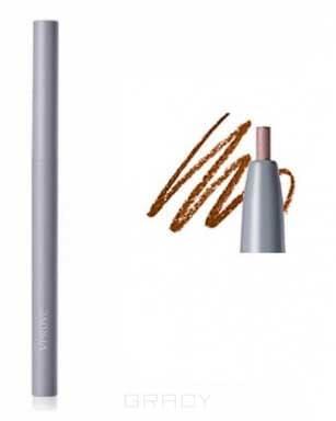 Vprove, Водостойкая подводка для глаз Ноу Мейкап, 0,14 г (4 тона), 0,14 г, Черный (BK01 Black) bk01 protective abs car door lock covers for cruze roewe 950 buick encore more black 4 pcs