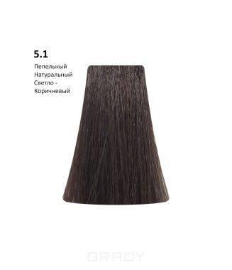 Купить BB One, Перманентная крем-краска Picasso (153 оттенка) 5.1Ash Natural Light Brown/Пепельный Натуральный Светло-Коричневый