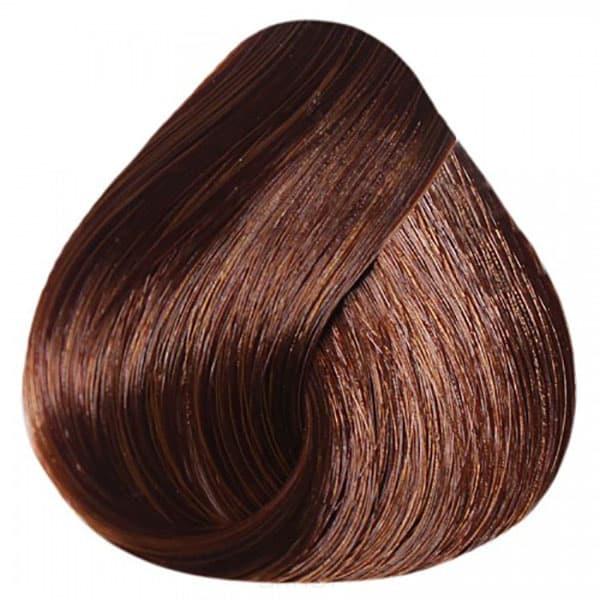 Купить Estel, De Luxe Крем-краска для волос Базовые оттенки Эстель Cream, 60 мл (151 оттенок) 6/50 Темно-русый красный для седины
