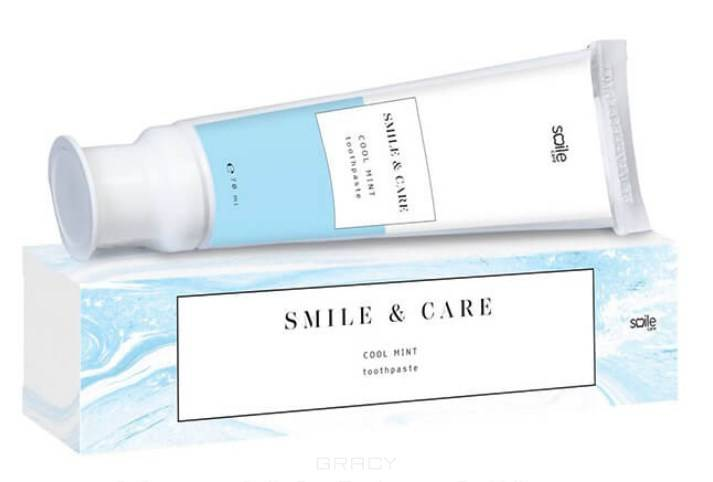 Smile Care, Зубная паста Освежающая мята Toothpaste Cool Mint, 70 мл pearl drops зубная паста молодая улыбка каждый день youthful smile 50 мл