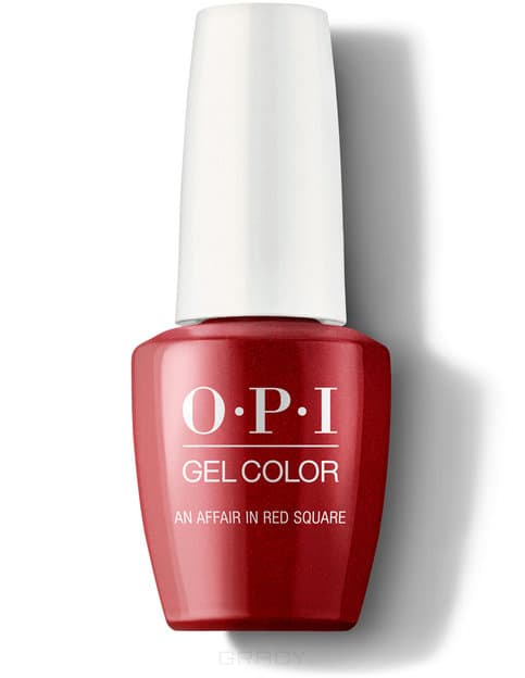 OPI, Гель-лак GelColor, 15 мл (199 цветов) An Affair in Red Square / Iconic red square