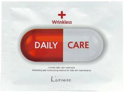 Купить L'Arvore, Тканевая маска для лица с лифтинг эффектом Daily Care Mask Wrinkless, 25 гр