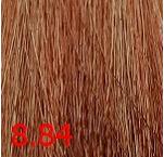 Купить Kaaral, Крем-краска для волос Baco Permament Haircolor, 100 мл (106 оттенков) 8.84 светлый коричнево-медный блондин