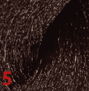 Revlon, Перманентный краситель для волос High Coverage, 60 мл (26 оттенков) 5. Светло-коричневый