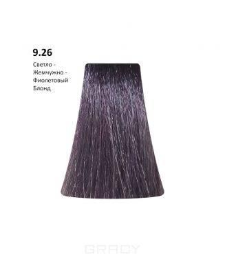 Купить BB One, Перманентная крем-краска Picasso (153 оттенка) 9.26Light Blond Pearl Violet/Светло - Жемчужно-Фиолетовый Блонд