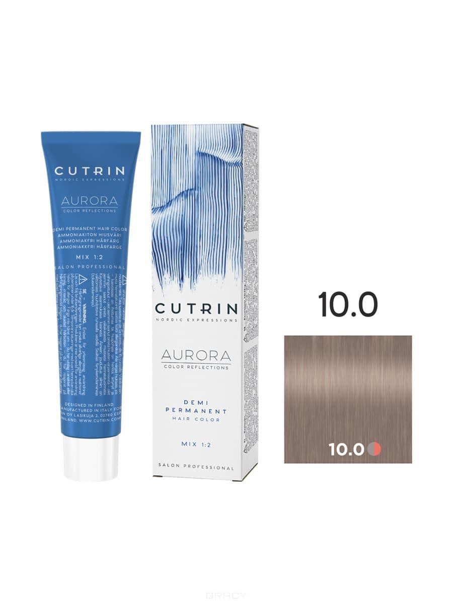 Купить Cutrin, Безаммиачная краска Aurora Demi (Новый дизайн Reflection Demi), 60 мл (55 оттенков) 10.0 Натуральный блондин