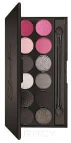 Sleek MakeUp, Тени для век в палетке Eyeshadow Palette I-Divine, 12 тонов (13 видов) тон Diamond Decade 1154 цена