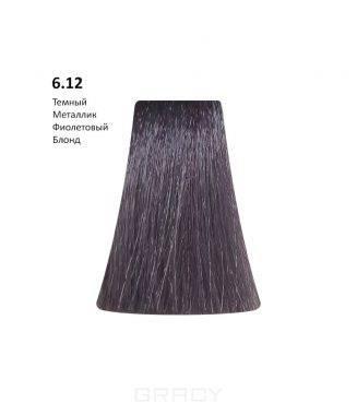 Купить BB One, Перманентная крем-краска Picasso (153 оттенка) 6.12Dark Metallic Violet Blond/Темный Металлик Фиолетовый Блонд
