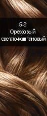 Syoss, Краска для волос Syoss Color Professional Performance (28 оттенков), 115 мл 5-8  Ореховый светло-каштановыйОкрашивание<br><br>