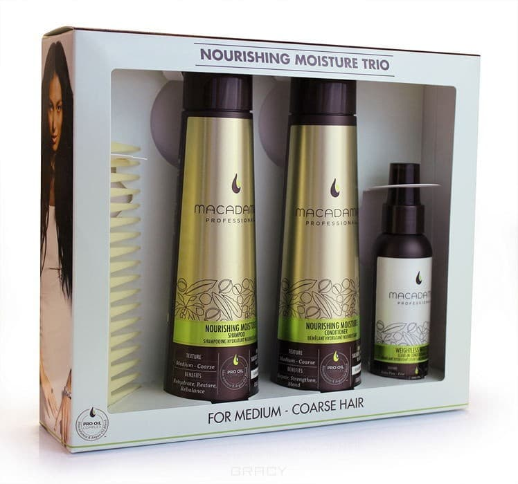 , Набор M5751 для всех типов волос Nourishing Moisture Trio Set, 300/300/100 млНаборы для ухода<br><br>