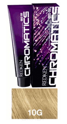 Купить Redken, Chromatics Краска для волос без аммиака Редкен Хроматикс (палитра 67 цветов), 60 мл 10.3/10G Gold золотой