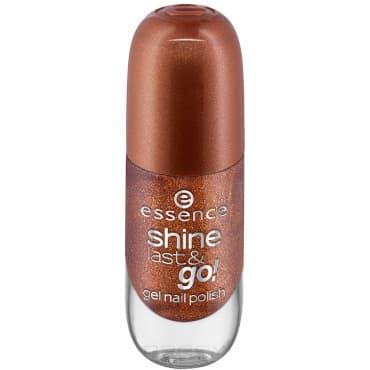 Купить Essence, Лак для ногтей с эффектом геля Shine Last & Go, 8 мл (52 оттенка) №41, бронзовый