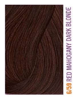 Lakme, Крем-краска для волос тонирующая Gloss, 60 мл (54 оттенка) 6/59 Темно-белокурый с оттенком красного дерева и с красноватым оттенком фото