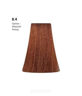 Купить BB One, Перманентная крем-краска Picasso Colour Range без аммиака (76 оттенков) 8.4Light Copper Blond/Светло-Медный Блондин