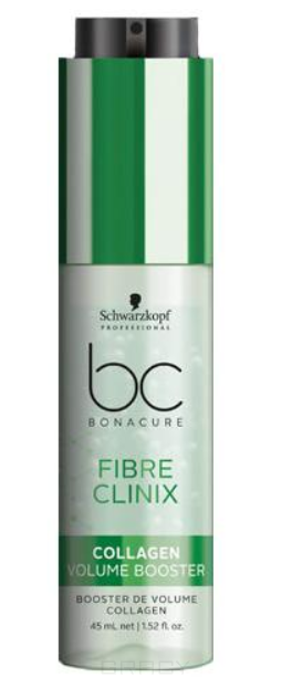 Schwarzkopf Professional, Бустер с коллагеном для объема волос Bonacure Fibre Clinix Booster Collagen Volume Boost, 50 мл