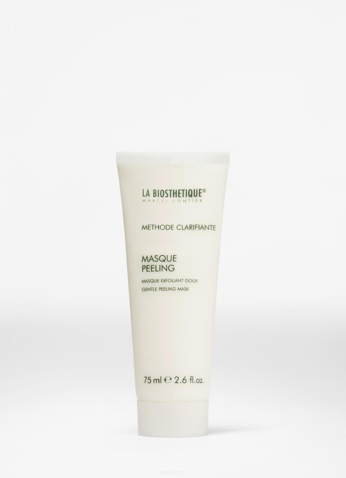 La Biosthetique, Глубоко очищающая кожу маска крем-эксфолиант для всех типов кожи, включая чувствительную Methode Clarifante Masque Peeling, 75 мл zip up convertible wear printed jacket