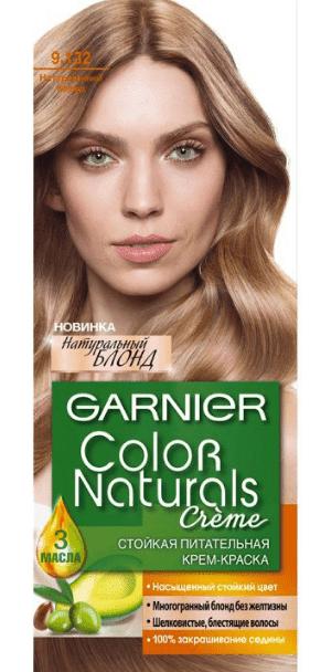 Garnier, Краска для волос Color Naturals (30 оттенков), 110 мл 9.132 Натуральный блондОкрашивание<br><br>