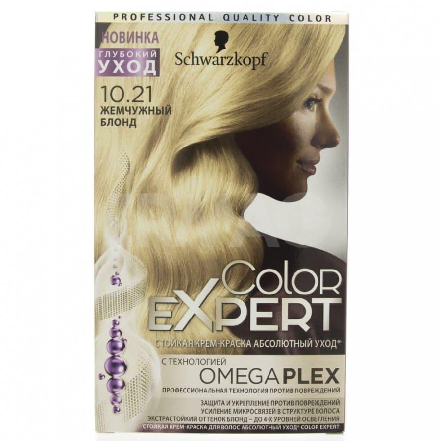 Schwarzkopf Professional, Краска для волос Color Expert (22 оттенков) 10.21 Жемчужный блонд schwarzkopf professional краска для волос color expert 22 оттенков 7 0 темно русый