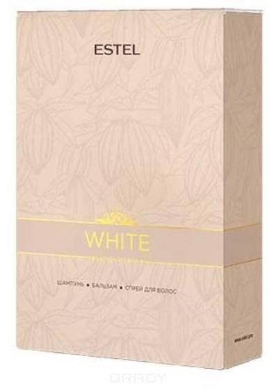 Chocolatier Набор для волос Эстель White Chocolate Bar, 250/200/200 мл косметика для волос макадамия отзывы
