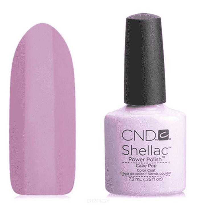 CND (Creative Nail Design), Гель-лак UV Shellac шеллак (58 оттенков) Cake Pop cnd creative nail design гель лак uv shellac шеллак 58 оттенков negligee