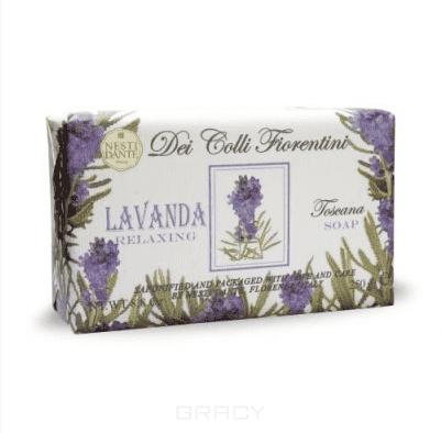 Мыло лаванда, 250 грУникальная старинная технология, используемая фабрикой Nesti Dante, позволяет сохранять драгоценные эфирные масла, насыщенные жиры и активные растительные вещества высочайшего качества. Мягкое растительное мыло не содержит в своем составе щелочи, не сушит и не раздражает кожу, хорошо пенится. &#13;<br>  &#13;<br> Оно не содержит синтетических сурфактантов, разрушающих защитный слой кожи. Увлажняя и питая кожу, оно идеально очищает ее. Каждый кусок мыла источает необычный и оригинальный аромат, ухаживает за кожей и дарит душевное равновесие. Nesti Dante Dei Colli Fiorentini - Путешествие в мир ароматов сквозь цветущие флорентийские холмы - для хорошего самочувствия тела и духа. Dei Colli Fiorentini - высококачественное натуральное мыло.<br>